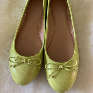 Ballet Flats - Banana Republic - Lime Green